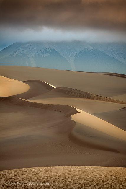 Nomansland, Beautiful Mountains Great Sand Dunes National Park, Colorado
