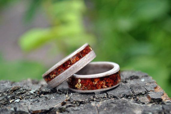 Wood Rings For Women 5 Year Anniversary 5th Anniversary Wood