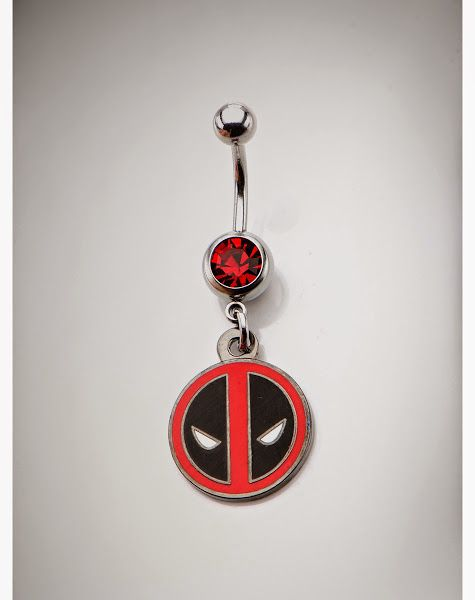 Deadpool Belly Button Ring | Deadpool Bugle