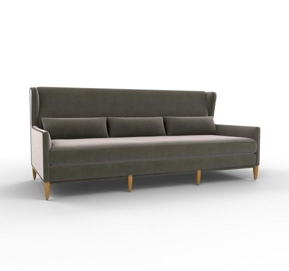 Manor sofa in Nevada Pewter