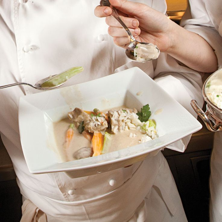 French -Blanquette de Veau (Veal in Cream Sauce) Recipe - Saveur.com