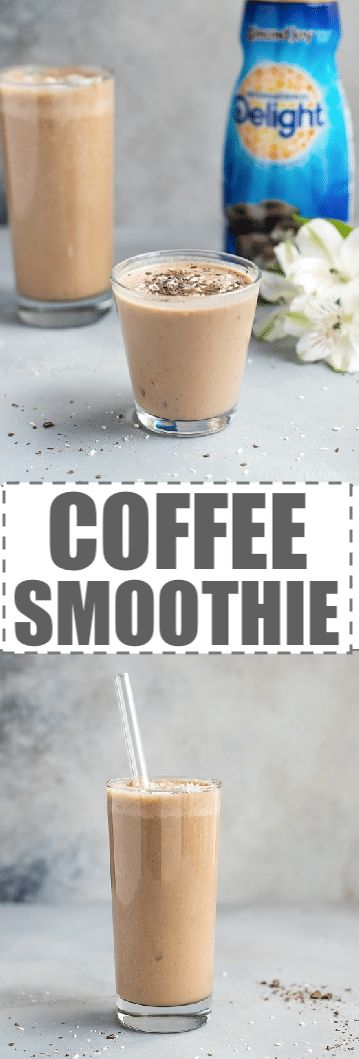 This Easy Almond Coffee Smoothie Recipe is perfect for breakfast or snack. Easy to make with a few good for you ingredients. Delicious drink, that combines the freshness of your black, hot morning coffee with some delicious and nutritious smoothie ingredients. #coffeesmoothie #coffee #ad #internationaldelight #moothie @walmart #DelightfulMoments #SplashOfDelight via @cookinglsl