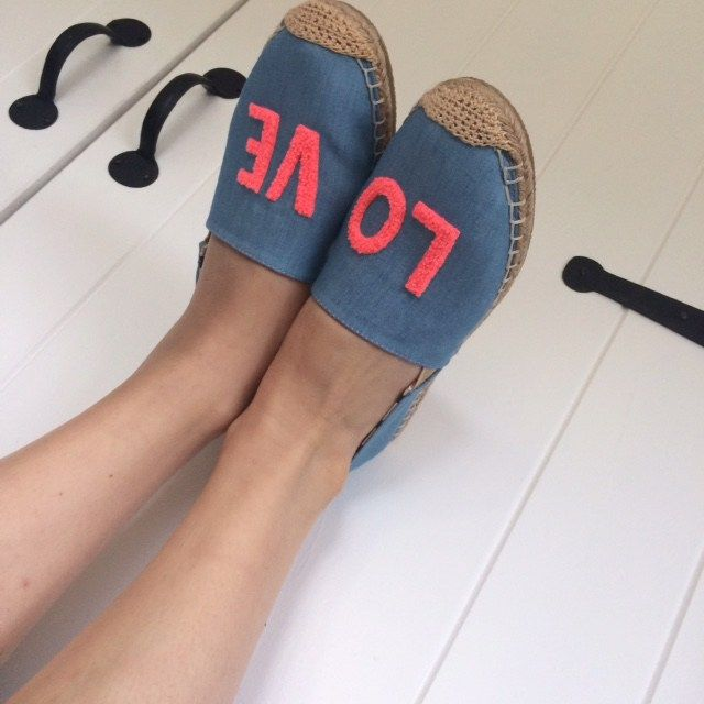 Love is in the air with these fab Boden espadrilles!
