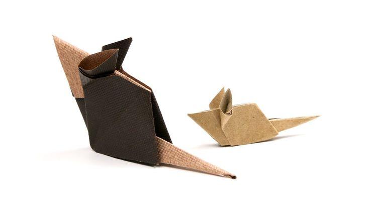 Origami Mouse Tutorial ♥︎ Cute DIY ♥︎ Paper Kawaii - YouTube