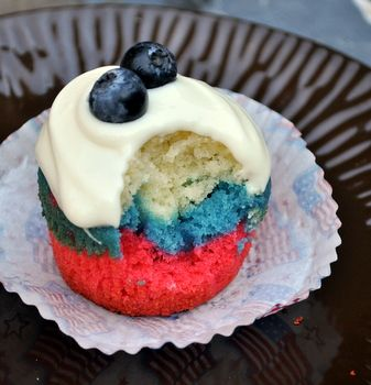 Fourth of July Cupcakes: Recipes 4Thofjulydesserts, July Cupcakes, Patriotic Cupcake, July Dessert, Sweet, Cupcake Recipe, 4Th Of July, Holidays, July 4Th