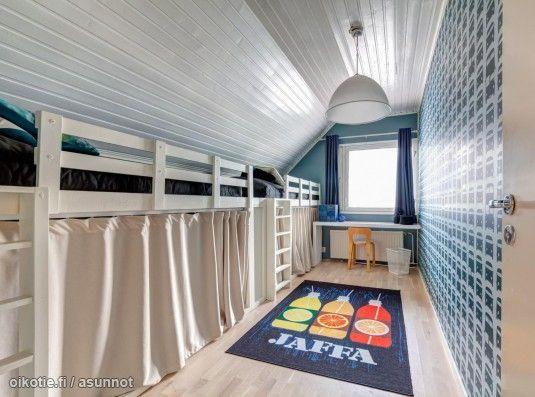 Myytävät asunnot, Ylipalontie 9 B Tuomarinkylä/Paloheinä Helsinki #lastenhuone #oikotieasunnot