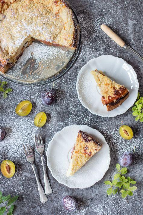 Zwetschgen Quarkkuchen Mit Streuseln R Rezepte Pinterest