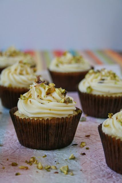 Cupcakes & Couscous: Lemon & Pistachio Cupcakes. Light and fluffy - if you love cupcakes then these are for you!