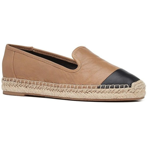 Witchery Ellie Espadrille ($40) ❤ liked on Polyvore featuring shoes, sandals, tan, genuine leather shoes, leather footwear, tan espadrilles, tan leather sandals and tan sandals