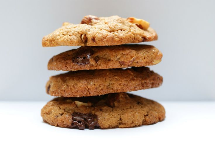 Recipe for Chocolate chip cookies in Danish at Kageministeriet.dk