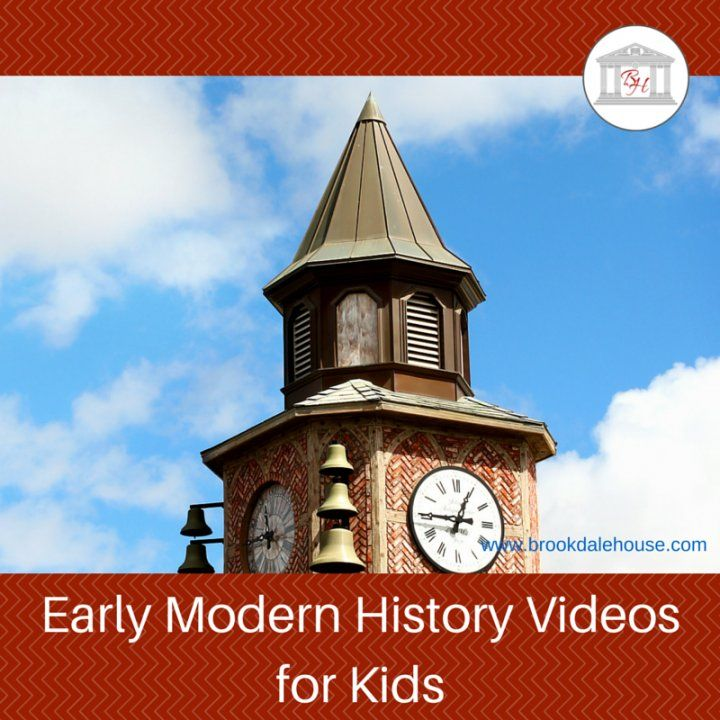 Early modern history videos help bring history to life for kids. These early modern history videos cover the years 1600 to 1850.