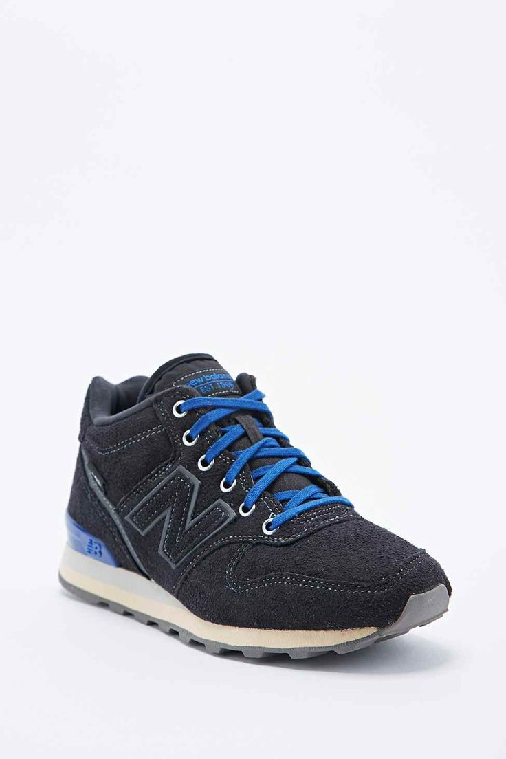 New Balance 996 High-Top Trainers in Black
