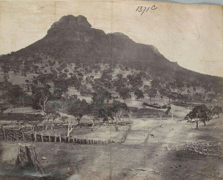 Mount Sturgeon Victoria Australia taken 1875.