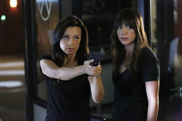 May And Skye – Together Again On Agents Of SHIELD