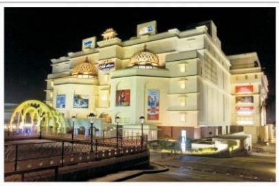 The celebration mall.Udaipur