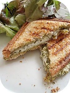Croque-Monsieur Pesto Chèvre