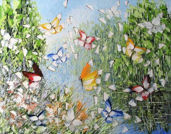 peinture de Dmitry Kustanovich