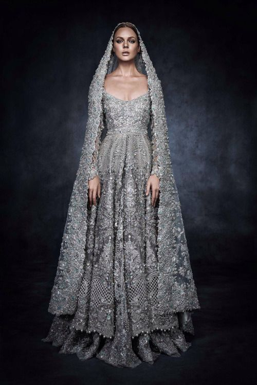 Historical Accuracy Reincarnated - highfashionpakistan: Elan's piece for Swarovski...