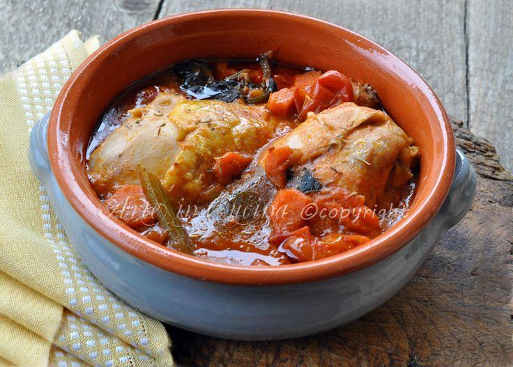#ricette #cucina #Pollo in umido ricetta veloce
