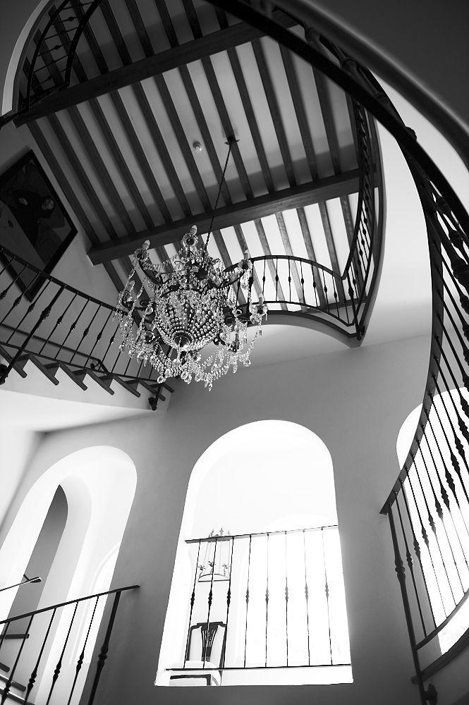 Villa Howden staircase