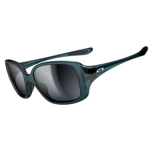 Oakley Women\u0027s L B D Sunglasses - Turquoise / Black Grey Gradient Lens  OO9193-07