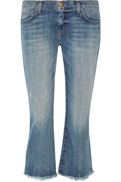 Blue stretch-denim Button and concealed zip fastening at front 90% cotton, 6% polyester, 4% elastane Designer wash: First Love Machine wash