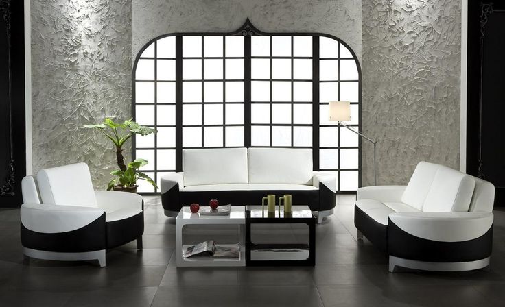 Leather Furniture Set With Sofa