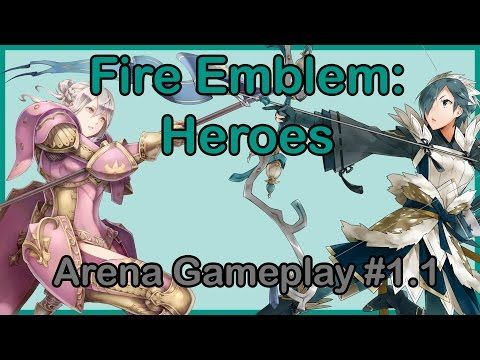 Fire Emblem: Heroes - Arena Gameplay