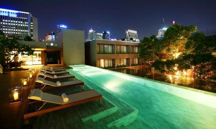 OopsnewsHotels - Ad Lib. Located a short walk from BTS Phloen Chit Station, Ad Lib is a convenient base while in Bangkok. It offers a swimming pool, free Wi-Fi and an outdoor pool.