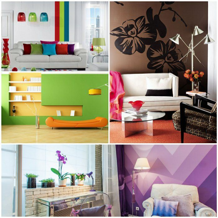 125 best Wandfarben images on Pinterest At home, Colors and Bedrooms - wandgestaltung wohnzimmer ideen