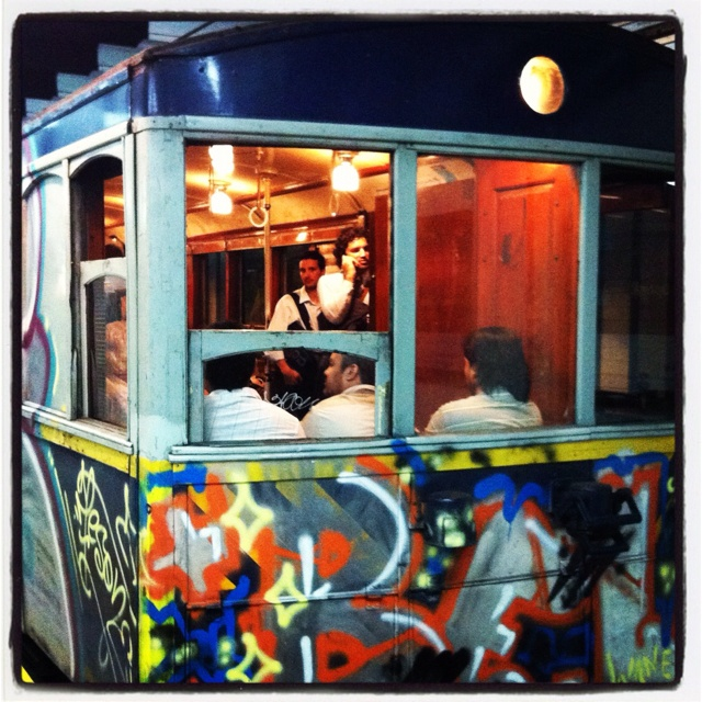 Subway carriage in Buenos Aires