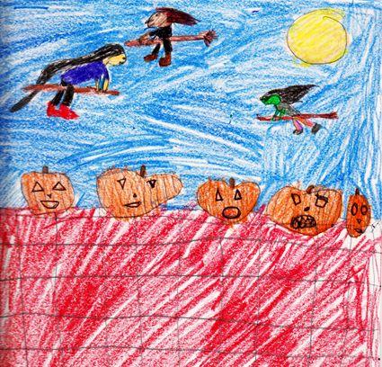 Five Little Pumpkins - 5 petites citrouilles - Traduction de la chanson enfantine, parfait pour l'Halloween!