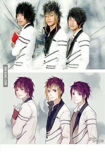 anime vs real life - Google 検索 | Real/Cartoon/Anime ...