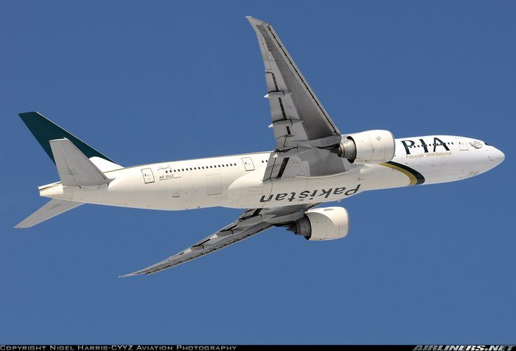 Pakistan International Airlines - PIA AP-BGZ Boeing 777-240/LR aircraft picture