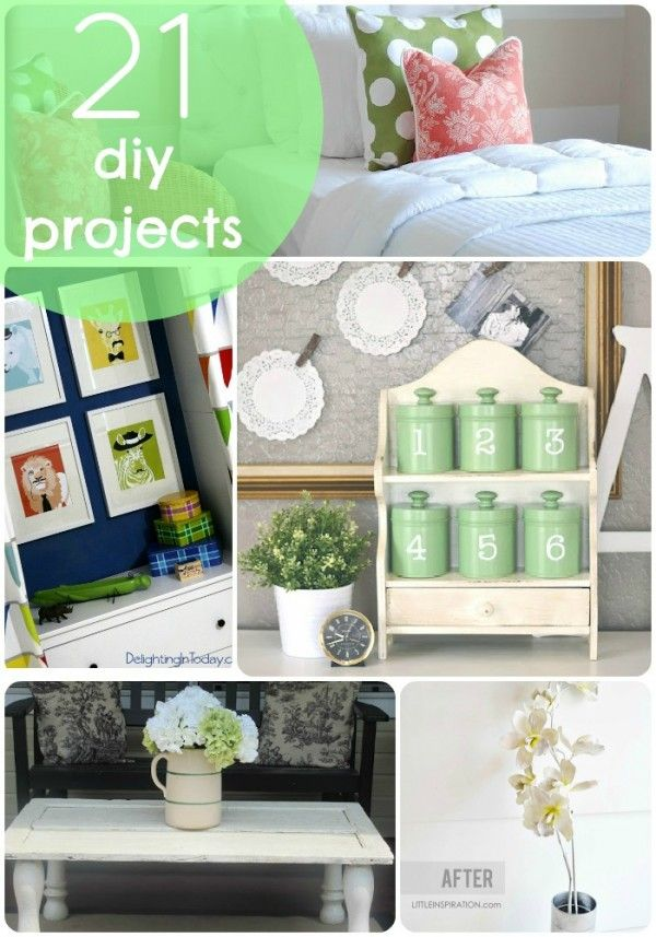 Superb 21 DIY Project To Spruce Up Your Home!!