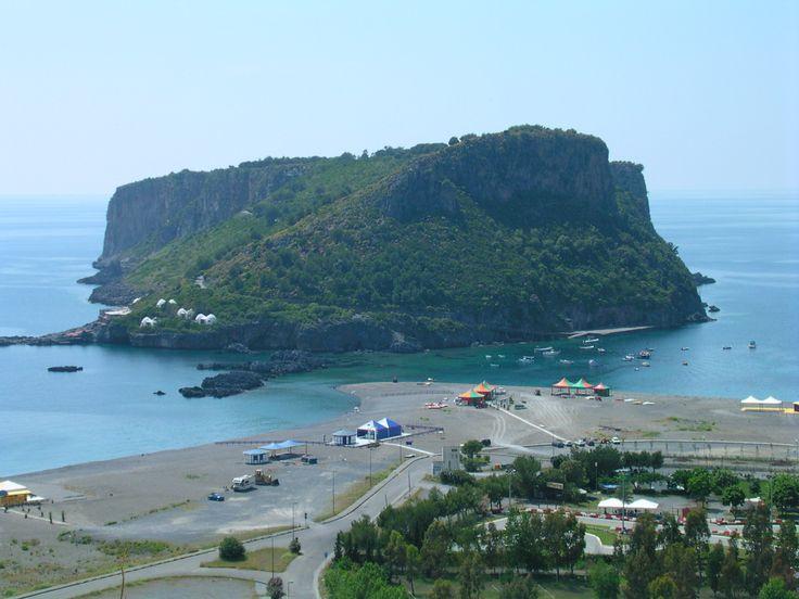 L'isola di Dino a Praia a Mare, calabria, italy