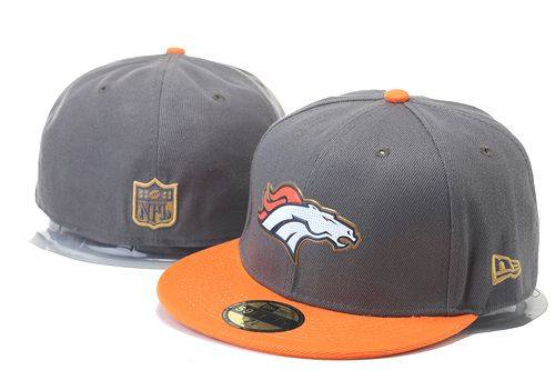 Denver Broncos Hats Gray Fashion Size Caps