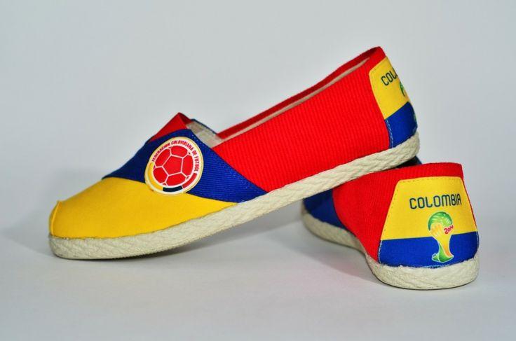 COLOMBIA MUNDIAL | Baletas, Alpargatas Mundialistas Colombia Mundial 2014 title=