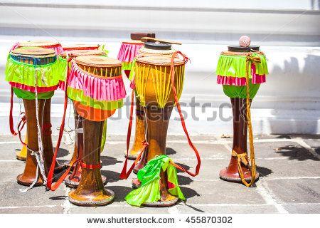 Drum instrument Thailand