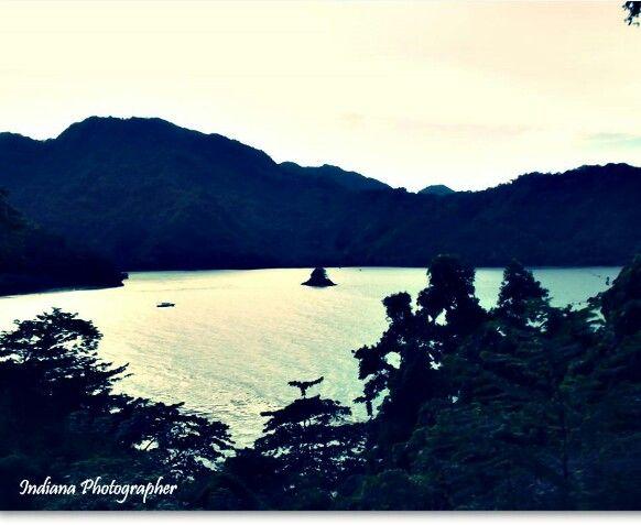 Tablanusu Beach. Depapre, Sentani, Papua.