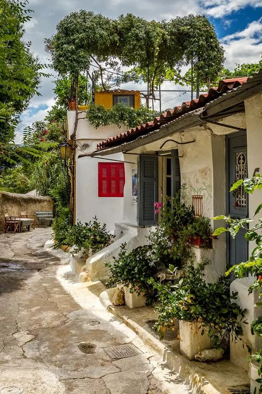 Anafiotika,Athens, Greece
