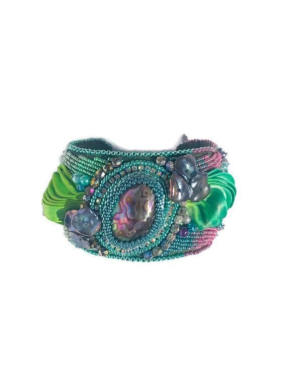 Seashell Bracelet Mermaid Cuff Seashell Cuff Mermaid Shell Bracelet Real Shell Bracelet Bohemian Cuff Mermaid Bracelet