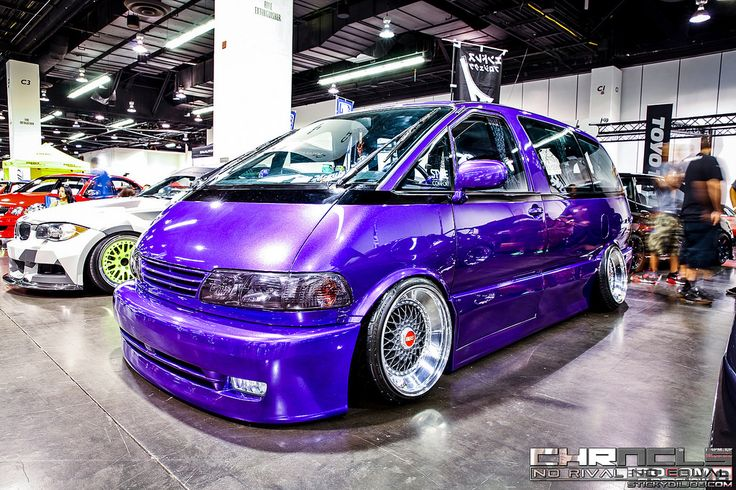 Ojay Bayang's grape Avanzare Toyota Previa VIP build…