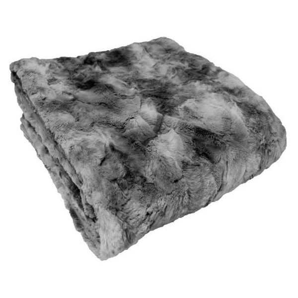 Chanasya Super Soft Fuzzy Fur Faux Fur Cozy Warm Fluffy Beautiful Colo Liked On Polyvore Featuring Home Grey Sherpa Throw Grey Throw Blanket Grey Fur Throw