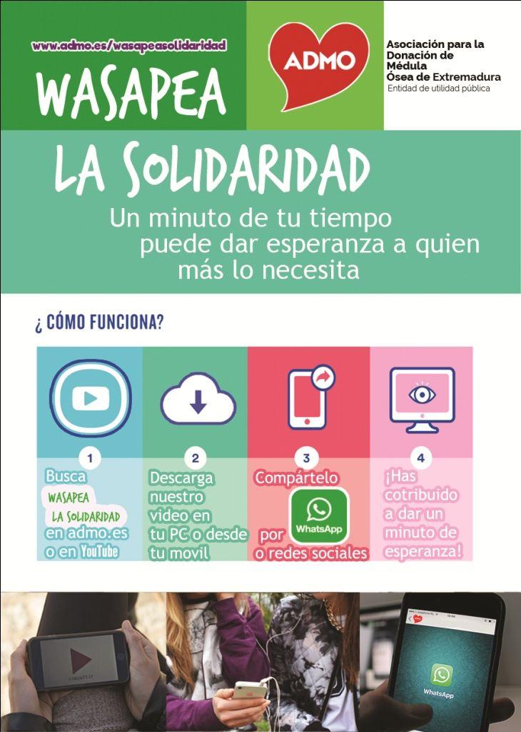 Ahora que nos mandamos por whatsapp muchas cosas, envía este mensaje para salvar vidas #DonaMédulaÓsea #DonaVida [https://www.youtube.com/watch?v=zf2RUyjV6n8&index=14&list=PLyHcETu8GDJ6RZ8rgvEpmV2LOMDKvBUz3]