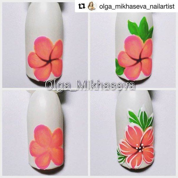 Another Flower Nail Tutorial: 395 Best Images About Nail Art Step By Step On Pinterest