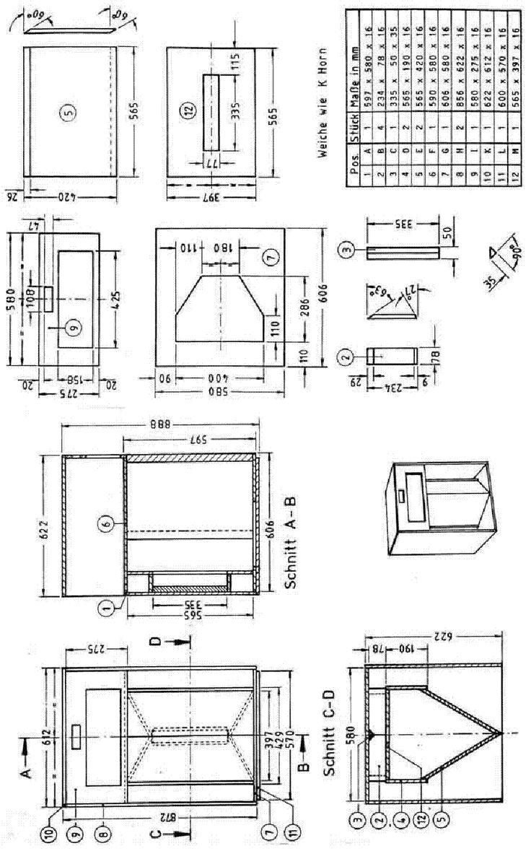 diy speaker schematics