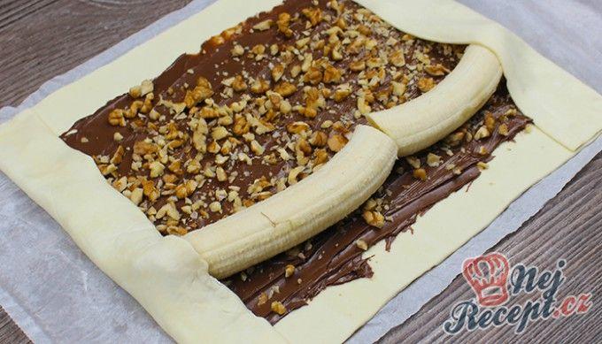 Fenomenální SUPER RYCHLÁ roláda s nutelou a banánem