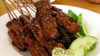 Best of Bridge Pork Satay - great for marinating anything (minus the butter)