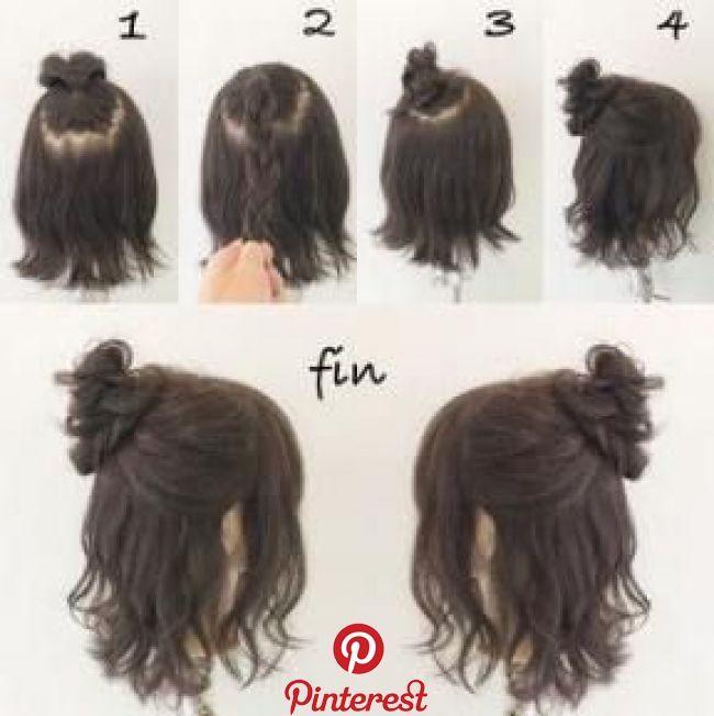 51 Trendy Hair Tutorial Short Messy